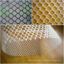 Maille en plastique résistante à la chaleur / grillage en plastique vert de revêtement