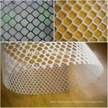 Heat Resistant Plastic Mesh/Green Plastic Coating Wire Mesh