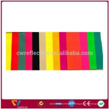 Tela de estiramento reflexivo dos lados dobro duráveis coloridos
