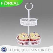 Novo Design de duas camadas Cupcake Stand