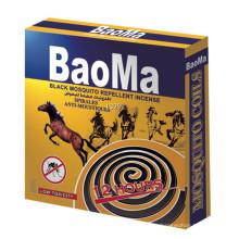 Baoma Schwarz Mückenschutz Weihrauch Spirales Anti-Mücken (Original Fabrik)