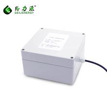 Voltaje personalizado 3.7v-72v 2ah-100ah almacenamiento 30A baterías solares de iones de litio 24 v luz de calle solar
