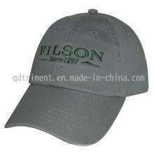 Blouson de sport de golf de baseball en brosse en coton lavé (TM04949)