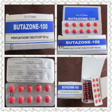 Antipyretische Analgetika Phenylbutazon-Tabletten