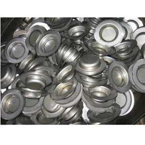 Aluminum coated deep drawn parts stamping