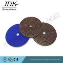 100mm Dry Flexible Polishing Pads for Granite Marble Sanding