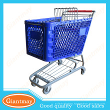 well design remarkable supermarket plastic cart