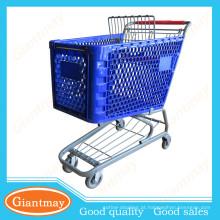 bem design supermercado notável carrinho de plástico