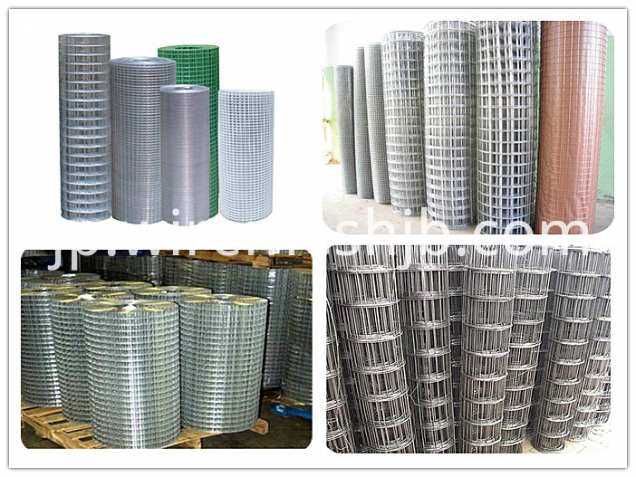 Welded mesh netting