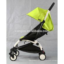 Простая простая прогулочная коляска для детского бега трусцой с несколькими цветами легко складывается в кабину самолета