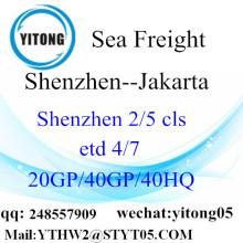 Angkutan laut Shenzhen ke Jakarta