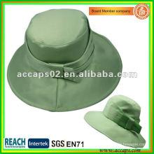Moda Niñas honeydew al aire libre cubo sombreros BH1203