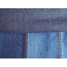Cotton Slub Denim Fabric Deep Indigo