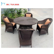 4PCS Seater Set jardin à manger chaise et Table (CF1271A)