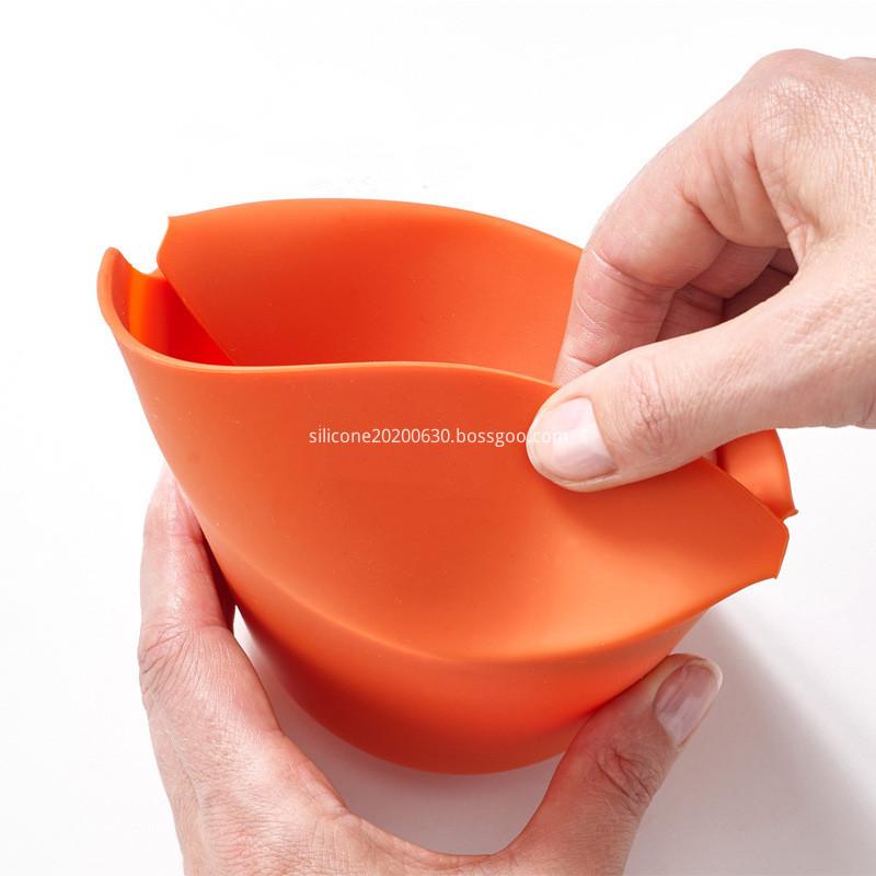 Popcorn bowl orange