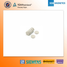 Imán de neodimio N35 D20 * 3 mm
