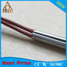 efficient split-sheath cartridge heating element