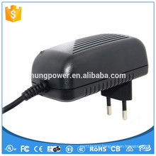 CE FCC UL/CSA SAA GS 24w wall mounted ac dc adapter 12v 2a