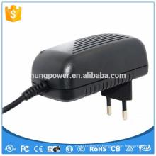 CE FCC UL / CSA SAA GS 24w настенный адаптер постоянного тока 12v 2a