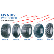 ATV tyre manufacture wholesale DOT 22*11.00-10 25*8-12