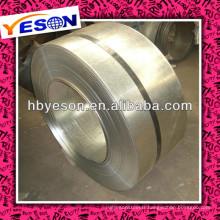 Vente en gros de bandes en acier galvanisé trempé CR / HR à prix réduit