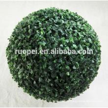 artificial grass plant / artificial boxwood topiary grass balls price