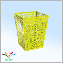 Fashion design medical pedal retangular metal waste paper bin