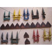 Gute Qualität Harvester Tiller Blade für Kubota, John Deere, New Holland