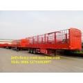 3 Axle 40ft Fence Cargo Semi Trailer