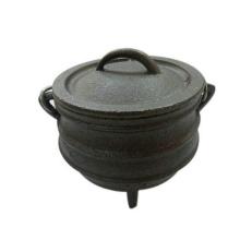 # 1/4 Mini pote de ferro fundido Potjie