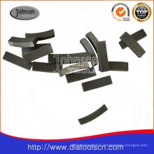 Segments de diamant pour les bits de base