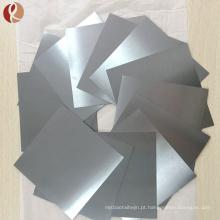 Folha de titânio puro popular super leve com preço razoável