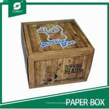 смещенное печатание коробки бумажной коробки упаковки
