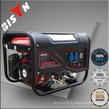 BISON (CHINA) OHV HONDA Motor Single Phase Mini eletricidade portátil gerador de gasolina gerador