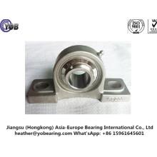Caixa de rolamento de bloco de almofadas de base sólida de aço inoxidável