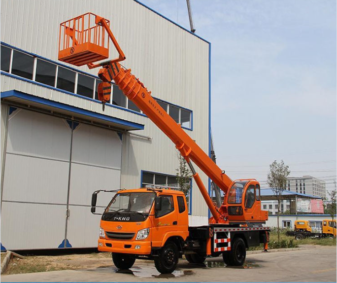 Basket Truck Mounted Crane