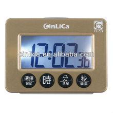 LCD display programável digital despertador CT-733