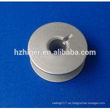 piezas de la máquina de coser de aluminio cnc