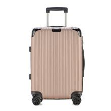 Juego de 3 piezas de equipaje de viaje de carcasa dura ABS