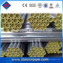 Productos para vender en línea calendario chino 40 tubería de acero galvanizado
