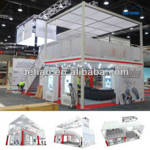 2013 two storey exhibition tradeshow booth from Shanghai Detian