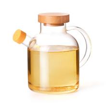 High Quality Borosilicate Glass Olive Oil Dispenser Bottle