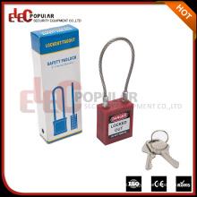 Elecpopular Beste Produkte Verstellbare versenkbare Sicherheitskabel Vorhängeschloss