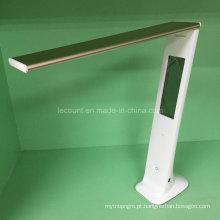 Lâmpada de mesa LED recarregável com calendário (LTB855)