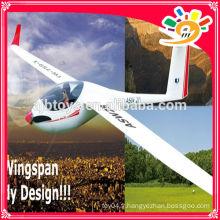 (759-1) EPO big scale unibody comme flaps en fibre de verre planeur rc modèle Chine modèle productions rc avions