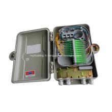 Boîtier de distribution de câble fibre optique extérieur SMC 24 Cores