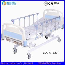 China Best Selling Hospital Ward Manual Três Shake camas médicas
