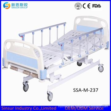 China Best Selling Hospital Ward Manual Three Shake Medical Beds