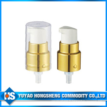 24mm Hot Sale Transparent Cream Lotion Pump for Cosmetic