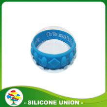 The most popular embossed printed silicone bracelet